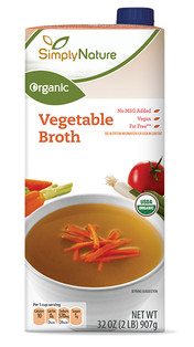 Simply Nature Vegetable Broth